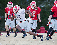 Georgia Training for Belk Bowl, December 27, 2014