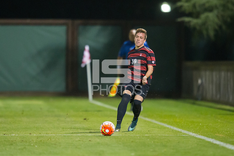 Stanford, CA - October 23, 2015: Stanford Men\'s Soccer vs UCLA.