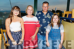 The Dillion Family enjoying night out in Greyhound Track.<br /> L-r, Rachel, Caroline, Tom and Laura Dillion.