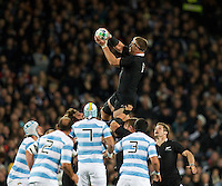 Rugby World Cup Auckland  New Zealand v Argentina Quarter Final 4 - 09/10/2011.Brad Thorn  (New Zealand).Photo Frey Fotosports International/AMN Images