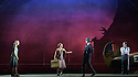 English Touring Opera presents XERXES, by George Frideric Handel, at the Hackney Empire, prior to setting off on a UK tour. Picture shows: Laura Mitchell (Romilda), Galina Averina (Atalanta), Peter Brathwaite (Elviro), Clint van der Linde (Arsamenes)