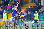 Colm Cooper of Dr Crokes and Liam Markham of Cratloe in the AIB Munster Senior Football Final played last Sunday in The Gaelic Grounds, Limerick.