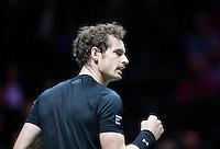 Februari 12, 2015, Netherlands, Rotterdam, Ahoy, ABN AMRO World Tennis Tournament, Andy Murray (GBR) <br /> Photo: Tennisimages/Henk Koster