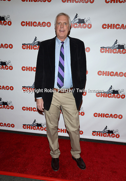 """Tom Billington attends """"Chicago""""  becoming the 2nd Longest Running Show on Broadway at performance 7486 on November 23, 2014 at the Ambassodor Theatre in New York City."""