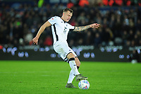 Ben Wilmot of Swansea City in action during the Sky Bet Championship match between Swansea City and Millwall at the Liberty Stadium in Swansea, Wales, UK. Saturday 23rd November 2019