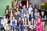 Talented up and coming athletes who received club awards at the Kerry AAI awards in the Dromhall Hotel on Saturday night