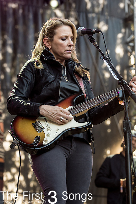 Susan Tedeschi of the Tedeschi Trucks Band performs at the Outside Lands Music & Art Festival at Golden Gate Park in San Francisco, California.