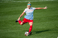 Kansas City, MO - Saturday September 9, 2017: Julie Ertz during a regular season National Women's Soccer League (NWSL) match between FC Kansas City and the Chicago Red Stars at Children's Mercy Victory Field.