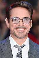 Robert Downey Jr.<br /> arrives for the European premiere of &quot;Captain America: Civil War&quot; at Westfield, Shepherds Bush, London<br /> <br /> <br /> &copy;Ash Knotek  D3111 26/04/2016