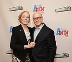 Holland Taylor and Benjamin Endsley Klein attend a Special Broadway HD screening of Holland Taylor's 'Ann' at the the Elinor Bunin Munroe Film Center on June 14, 2018 in New York City.