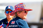 Team GB supporters. GBR. FEI Grand Prix Dressage. Team. Day 3. World Equestrian Games. WEG 2018 Tryon. North Carolina. USA. 13/09/2018. ~ MANDATORY Credit Elli Birch/Sportinpictures - NO UNAUTHORISED USE - 07837 394578