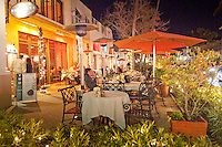 Nightlife, upscale dining and nightlife along historic Fifth Avenue South, Naples, Florida, USA. Photo by Debi PIttman Wilkey
