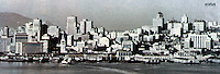 San Francisco: Skyline, 1958.