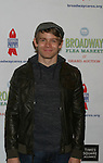 Andrew Keenan-Bolger (Newsies) at The 26th Annual Broadway Flea Market and Grand Auction to benefit Broadway Cares/Equity Fights Aids on September 23, 2012 in Shubert Alley and Times Square, New York City, New York.  (Photo by Sue Coflin/Max Photos)