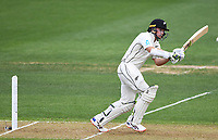 29th November 2019, Hamilton, New Zealand;  Toom Latham batting on day 1 of the 2nd international cricket test match between New Zealand and England at Seddon Park, Hamilton, New Zealand. Friday 29 November 2019