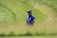 Shugo Imahira (JPN) walks to the 10th tee during Friday's Round 2 of the 117th U.S. Open Championship 2017 held at Erin Hills, Erin, Wisconsin, USA. 16th June 2017.<br /> Picture: Eoin Clarke | Golffile<br /> <br /> <br /> All photos usage must carry mandatory copyright credit (&copy; Golffile | Eoin Clarke)