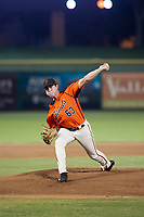 AZL Giants starting pitcher Seth Corry (63) delivers a pitch to the plate during Game Three of the Arizona League Championship Series against the AZL Cubs on September 7, 2017 at Scottsdale Stadium in Scottsdale, Arizona. AZL Cubs defeated the AZL Giants 13-3 to win the series two games to one. (Zachary Lucy/Four Seam Images)