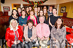 The staff of the Kerry School of Music enjoying the evening in the Brogue Inn on Thursday