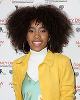 "LOS ANGELES - MAR 10:  Zoe Renee at the ""Nancy Drew And The Hidden Staircase"" World Premiere at the AMC Century City 15 on March 10, 2019 in Century City, CA"
