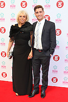 Phillip Oliver and Mother arriving at the Tesco Mum Of The Year Awards 2014, at The Savoy, London. 23/02/2014 Picture by: Alexandra Glen / Featureflash