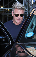 NEW YORK, NY July 09, 2018 Gordon Ramsay at the Late Show with Stephen Colbert  to talk about new season of Gordon Ramsay's 24 Hours to Hell and Back  in New York. July 09, 2018 <br /> CAP/MPI/RW<br /> &copy;RW/MPI/Capital Pictures