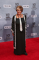 Los Angeles CA Apr 11: Sara Karloff, arrive to 2019 TCM Classic Film Festival Opening Night Gala And 30th Anniversary Screening Of &quot;When Harry Met Sally&quot;, TCL Chinese Theatre, Los Angeles, USA on April 11, 2019 <br /> CAP/MPI/FS<br /> &copy;FS/MPI/Capital Pictures