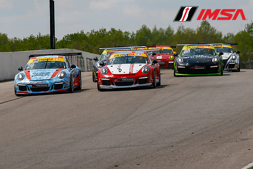 20-22 May 2016, Bowmanville, Ontario, Canada <br /> GT3 Cup Canada, Race 1 Start<br /> &copy;2016, Jake Galstad<br /> LAT Photo USA