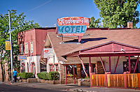 Downtowner Motel, in Flagstaff Arizoan located on Route 66.