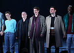 Denise Gough, Nathan Lane, Andrew Garfield, James McArdle, Nathan Stewart-Jarrett  during the 'Angels in America' Broadway Opening Night Curtain Call Bows at the Neil Simon Theatre on March 25, 2018 in New York City.