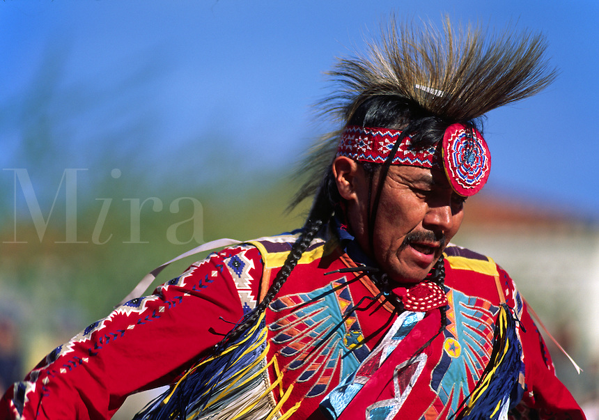 TOMMY DRAPER competes at the WORLD CHAMPIONSHIP HOOP DANCE CONTEST - HEARD MUSEUM, PHOENIX, ARIZONA