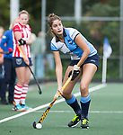 AMSTELVEEN - Tess van Ramshorst (Hurley).  Hoofdklasse competitie dames, Hurley-HDM (2-0) . FOTO KOEN SUYK