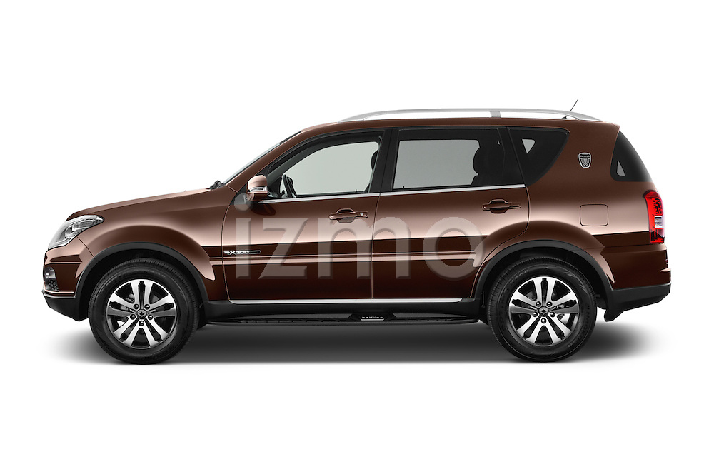 Car Driver side profile view of a 2015 Ssangyong Rexton W Sapphire 5 Door Suv Side View