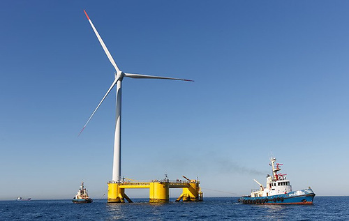 Explorations off the Cork Coast could see Ireland's first floating offshore wind farm