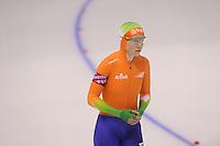 SCHAATSEN: CALGARY: Olympic Oval, 09-11-2013, Essent ISU World Cup, 500m, Laurine van Riessen (NED), ©foto Martin de Jong