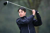 Melan Dhaubhadel (Calcot Park) during the first round of the Peter McEvoy Trophy played at Copt Heath Golf Club, Solihull, England. 11/04/2018.<br /> Picture: Golffile | Phil Inglis<br /> <br /> <br /> All photo usage must carry mandatory copyright credit (&copy; Golffile | Phil Inglis)