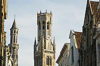 Belgium, Bruges, Belfry tower