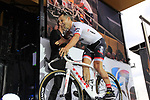 Trek-Segafredo team on stage at the Team Presentation in Burgplatz Dusseldorf before the 104th edition of the Tour de France 2017, Dusseldorf, Germany. 29th June 2017.<br /> Picture: Eoin Clarke | Cyclefile<br /> <br /> <br /> All photos usage must carry mandatory copyright credit (&copy; Cyclefile | Eoin Clarke)