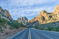 This is the road into the Chiso Basin in Big Ben National Park.
