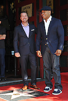 Actor Chris O'Donnell &amp; LL Cool J on Hollywood Boulevard where O'Donnell was honored with the 2,544th star on the Walk of Fame.<br /> March 5, 2015  Los Angeles, CA<br /> Picture: Paul Smith / Featureflash