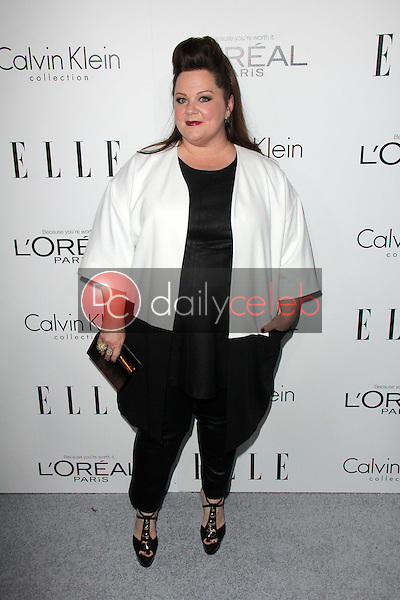 """Melissa McCarthy<br /> at the Elle 20th Annual """"Women In Hollywood"""" Event, Four Seasons Hotel, beverly Hills, CA 10-21-13<br /> David Edwards/Dailyceleb.com 818-249-4998"""