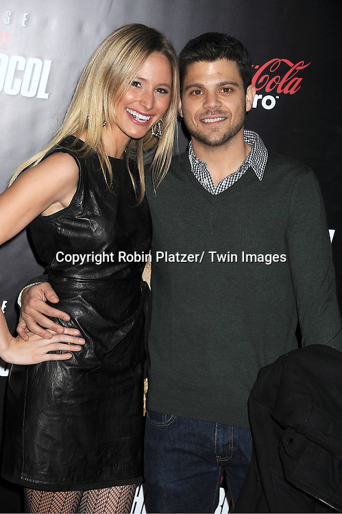 "Jerry Ferrara and Alexandra Blodget tattend The US Premiere of "" Mission:Impossible - Ghost Protocol "" on December 19, 2011 at the Ziegfeld Theatre. .the movie stars Tom Cruise, Paula Patton, Jeremy Renner, Simon Pegg, Josh Holloway, Michael Nyqvist and Anil Kapoor."