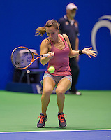 December 18, 2014, Rotterdam, Topsport Centrum, Lotto NK Tennis, Ladie's singles quarter final, Olga Kalyuzhnaya (NED)<br /> Photo: Tennisimages/Henk Koster