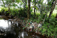 Locals of Sidamen, a small village known for its' beauty , use nearby streams as their garbage disposal system. Rubbish is simply thrown into rivers and streams, to be washed out to sea during the rainy season.