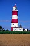 AMHK92 Happisburgh lighthouse Norfolk England