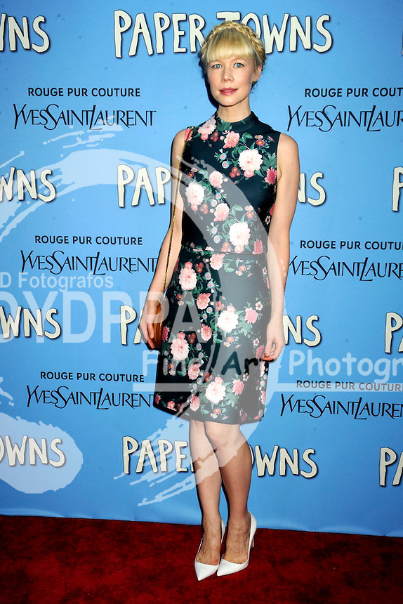 Erin Fetherston attending the 'Paper Towns' premiere at AMC Loews Lincoln Square on July 21, 2015 in New York Cit