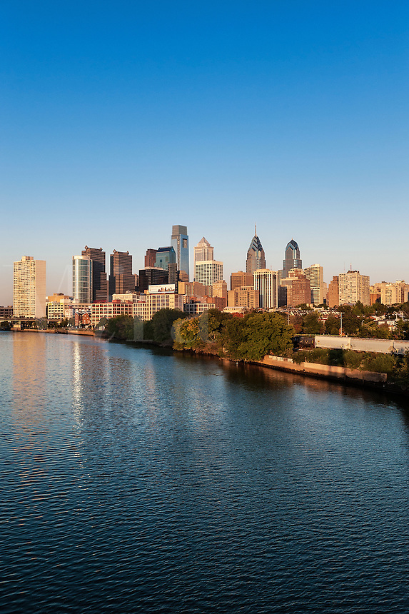 Philadelphia skyline, Pennsylvania, USA