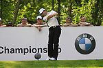 Padraig Harrington tees off on the 12th tee during Round 2 of the BMW PGA Championship at  Wentworth, Surrey, England...Photo Golffile/Eoin Clarke.(Photo credit should read Eoin Clarke www.golffile.ie)....This Picture has been sent you under the condtions enclosed by:.Newsfile Ltd..The Studio,.Millmount Abbey,.Drogheda,.Co Meath..Ireland..Tel: +353(0)41-9871240.Fax: +353(0)41-9871260.GSM: +353(0)86-2500958.email: pictures@newsfile.ie.www.newsfile.ie.