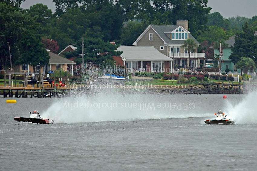 """Andrew Tate, A-25 """"Fat Chance"""" and Karen Toulouse, A-7 """"Southern Magic"""" (2.5 MOD class hydroplane(s)"""