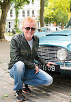 CHRIS EVANS, ANOUNCED THIS WEEK AS THE NEW PRESENTER OF BBC TV PROGRAMME &quot;TOPGEAR&quot;, AS WELL AS CONTINUING IN HIS ROLE AS RADIO2 DJ.<br /> INTERVIEWED BY MOS REPORTER AMY OLIVER, IN HIS 1964 ASTON MARTIN DB5, WHICH WAS BOUGHT BY PETER SELLERS AND GIVEN TO PRINCESS MARGARET.<br /> WEST LONDON.<br /> 19-6-2015 PIC BY IAN MCILGORM