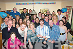 21 Hugs: Eoin O'Mahony(front centre)had a cracker celebrating his 21st birthday last Saturday night at his home in Glenard Tralee with all his family and many friends..